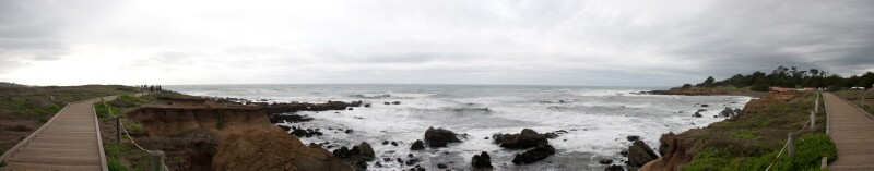 Moonstone Beach in Cambria, CA