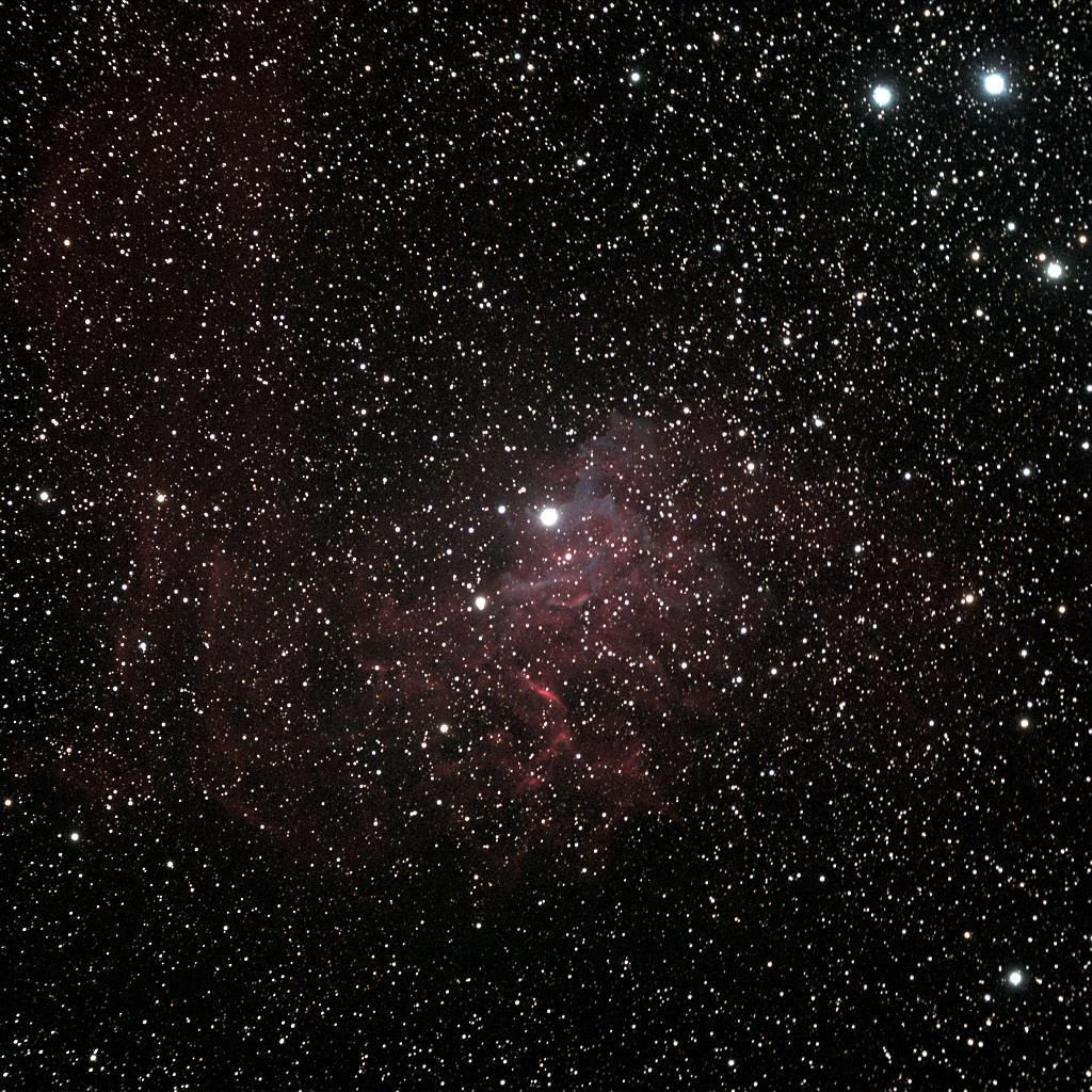 IC 405 the Flaming Star Nebula