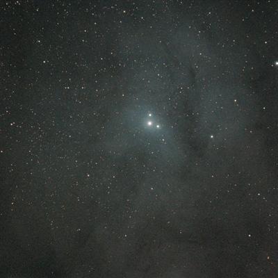 Rho Ophiuchus nebula