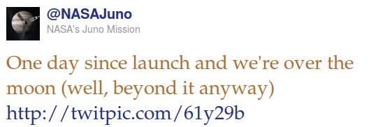 Juno tweet