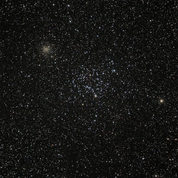 M35 with NGC2158