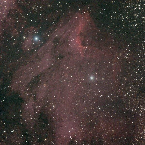 The Pelican Nebula