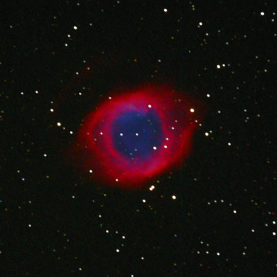 The Helix planetary nebula, crop from full-frame image.